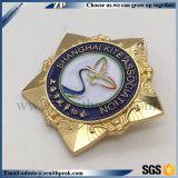 Cusotm米国の警察の保安官のユニフォームのバッジ