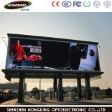P10 полноцветный светодиодный дисплей для установки вне помещений для размещения рекламы системной платы