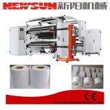 Corte longitudinal da máquina para corte longitudinal de papéis e adesivo autocolante