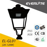 LED de exterior impermeable IP65, 60W de luz de carretera Calle luz LED