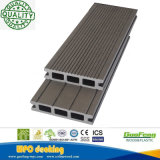 Le WPC imperméable en plastique en bois Composite Decking Outdoor Flooring