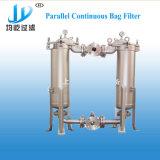 Multi-stade de l'eau de haute qualité en acier inoxydable Duplex Sac parallèle de la cartouche de filtration de boîtier de filtre