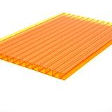 Folha plástica do policarbonato do painel do dossel do telhado dos toldos do telhado