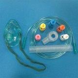 Máscara de oxígeno reemplazable del venturi médico médico disponible de la concentración/máscara de oxígeno del Multi-Respiradero con 5 Diluters