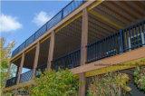Ограждать балкона Railing бронзы палубы контрактора алюминиевый коммерчески