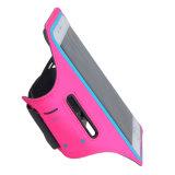 Sacchetti correnti dei sacchetti del telefono mobile del coperchio della cassa della cinghia della fascia di braccio di sport di ginnastica che pareggiano