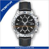 De Horloges van de Chronograaf van de eenrichtingsMensen van de Vatting met Riem Interchangable