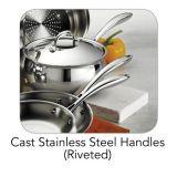 Utensili stabiliti della cucina 13PCS del Cookware dell'acciaio inossidabile di premio 403 (CX-SS1302)