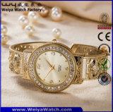 En acier inoxydable occasionnel Mesdames fashion montre-bracelet (WY-P17007C)