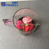 Visualizzazione acrilica del fiore della radura calda di vendita di Facory