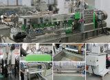 Botellas machacadas animal doméstico que reciclan el sistema de la granulación