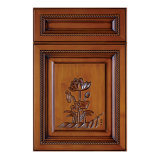 Placa MDF Almirah Carving porta do gabinete (YH-CD4005)