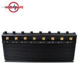 Обновленная версия восьми антенн сигнал блокировки всплывающих окон с высокой мощности20W с выделением функции с возможностью горячей замены