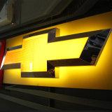 Luxuxauto-Firmenzeichen-Zeichen qualitäts-Amerika-Serie geleuchtetes LED