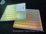 Шаблон градиента ламинированного стекла искусства с разных углов шоу различных цветов (LG-TP)