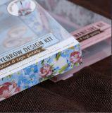 カスタマイズされた印刷された透過プラスチック装飾的な折るギフト用の箱