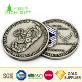 卸し売り中国バイヤーのための最小のカスタム金属の黄銅によって浮彫りにされるロゴのレプリカの骨董品の古い硬貨無し
