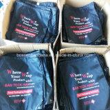 OEM昇進のスポーツの体操のドローストリングの防水赤いバックパックを広告するカスタムロゴによって印刷されるポリエステルナイロンは製造業者を袋に入れる