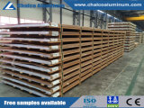 Feuille de la plaque en aluminium pour les plaques latérales du navire des conteneurs (5052/5083/5086/5154/5454/5754/6061)
