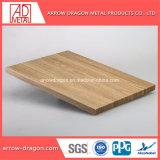 Revêtement en poudre léger en aluminium haute rigidité Panneaux d'Honeycomb pour meubles/ Table de travail/ Count Haut de page