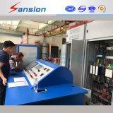 Actual y potencial transformador automático de un banco de prueba