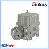 Pompe à palettes pour station d'huile avec distributeur de carburant B/D