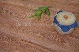 Federación de roble de color café de grano negro diseñado Pisos de Madera