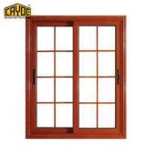 Cayoe popular diseño de aluminio agradable Ventana corrediza de vidrio en la pared
