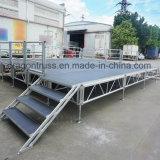 En el exterior de aluminio de aleación de aluminio de la etapa de la armadura de la etapa