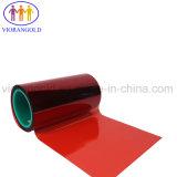 25um/36um/50um/75um/100um/125um泡の裏付けのためのシリコーン油が付いている赤いペットはく離ライナー