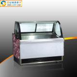 Armadietto di esposizione commerciale di caso di visualizzazione del gelato e del gelato
