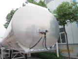 3 semirimorchio della lega di alluminio del serbatoio di acqua dell'asse 33cbm