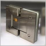 De aço inoxidável 304 grampo hidráulico 180 graus da dobradiça chuveiro regulável