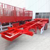 반 Fuwa 2 차축 20FT 해골 트레일러 콘테이너 포좌 트럭 트레일러