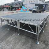 Estágio em ligas de alumínio para exterior treliças Estágio de alumínio