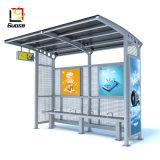Улицы Мебель металлическая автобусной остановки жилья с рекламы освещения в салоне