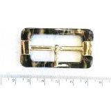 Diameter 3,5cm Classic High-Quality plastic harssluiting voor kledingaccessoires Binnengesp van de veiligheidsgordel