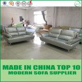 イタリアの現代本革のLoveseatのソファーの椅子