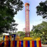 Fabricado en China 64m del parque de diversiones de la emoción de súper alta caída libre el equipo de la torre de caída de paseo para la venta