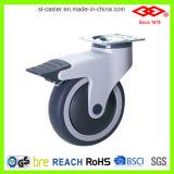 Placa giratória com casco médico de freio (P503-34E100X32CS)