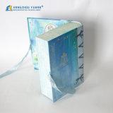 Belle forme de livre avec la caisse d'emballage de bande