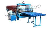 Painel de parede de azulejos e máquina de formação de rolos de Dupla Camada