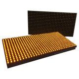 Singolo modulo esterno giallo del LED