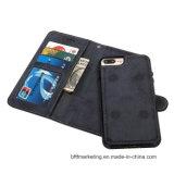 iPhone 8/8plus аргументы за отделяемого ретро кожаный сотового телефона передвижное
