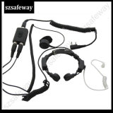 Casque de micro-casque militaire pour Kenwood Two Way Radio