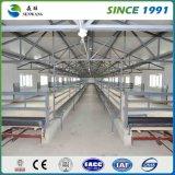 Het geprefabriceerde Lichte Pakhuis Van uitstekende kwaliteit van de Structuur van het Staal van het Frame