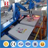 ワイシャツの印刷のための楕円形の自動シルクスクリーンの印字機