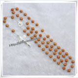 A ourivesaria religiosas, Pulseira, Colar, anéis de casamento, brincos, Rosário Colar (IO-CR000)