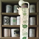 Tejido de cuarto de baño impreso historieta del rodillo de la cocina de la novedad del papel higiénico