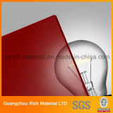 strato acrilico di plastica del perspex del plexiglass dello strato di colore di 2.8mm per le illustrazioni del mestiere